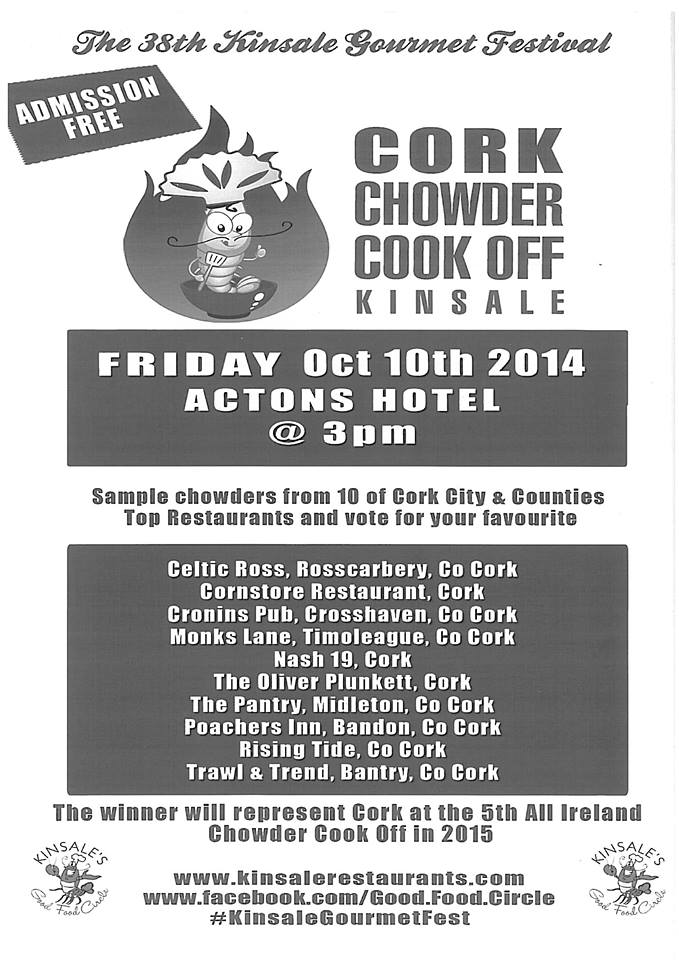 Cork Chowder Cook Off